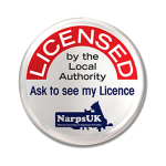 Licensed By The Local Authority - NARPS UK