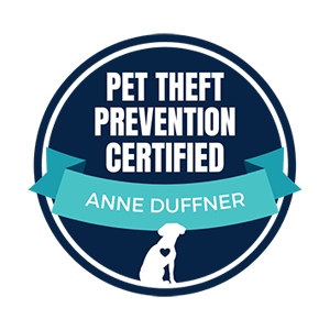 Anne Duffner Pet Theft Prevention Completion Certificate